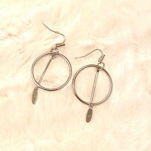 Kendra Scott Jewelry - Nalani Open Frame Earrings in Silver